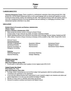 Enterprise Management Trainee Resume Stunning Medical Sales Resume  Focus  Pinterest  Sample Resume And Medical .