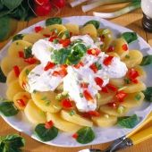 Lajos Mari konyhája - Gombás-sonkás sertésrolád Potato Salad, Potatoes, Ethnic Recipes, Foods, Food Food, Food Items, Potato