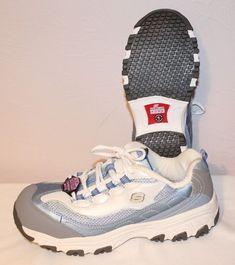 22d33c5e573b Women s Skechers Work Lightweight Alloy Safety Toe Work Shoes 76442 LBLW  NEW 10  SKECHERS