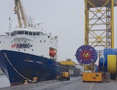 PHOTO: TechnipFMC loads out umbilicals for Total's Egina field