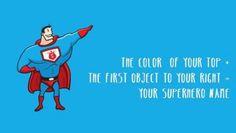 Super hero name