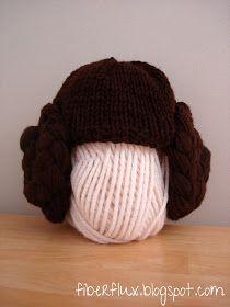 Fiber Flux: Free Knitting Pattern...Princess Leia Hat