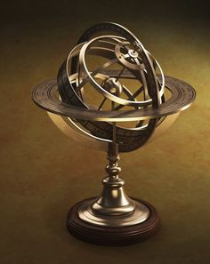An astrology globe.