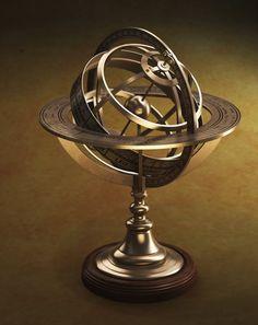 An astrology globe.