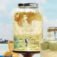 Sur La Table® Rooster Glass Beverage Jar