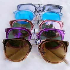 """*New Arrivals* * NEW SUNGLASSES * 5.6 X 2"""" approx  All colors available today. Please comment below to purchase. Accessories Sunglasses"""