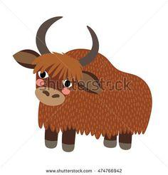 Image result for cute yak illustration