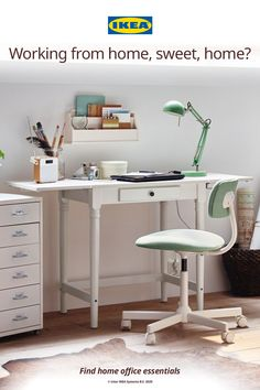 Whether you're a work from home newbie or a remote work pro, it's important to be both comfortable and focused in your home office. It's all about finding the right desk, chair, lamp and office gear that work for you.