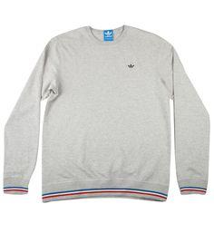 Adidas Originals PB Crewneck Sweatshirt Medium Grey Heather from Adidas Originals, on 5pointz