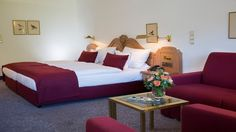 Our spacious, very quiet Grand Komfort rooms offer approx. 40–45 m2 of space