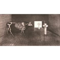 'Alter Piece' by Barry Cleavin Alters, Printmaking, Moose Art, Animals, Kunst, Animales, Animaux, Printing, Animal