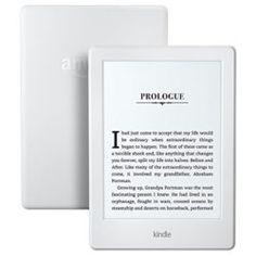All-New Kindle E-reader – White, 6″ Glare-Free Touchscreen Display, Wi-Fi –…