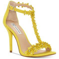 7cc86cc9872b I.n.c. Women s Rosiee T-Strap Embellished Evening Sandals