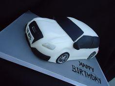 Audi A3 Cake cakepins.com
