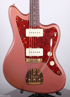 1962 Vintage Fender Jazzmaster Original Burgundy Mist Original Gold Hardware//// a boy can dream