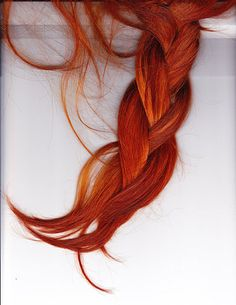 i have been obsessed with red hair lately - not just strawberry blonde or auburn but RED - i have the guts to do it but I'm sure it would destroy my hair and there would be a lot of upkeep! Pretty Hairstyles, Braided Hairstyles, Cheveux Oranges, Coiffure Hair, Braid Hair, Plait Braid, Corte Y Color, Strawberry Blonde, Braids For Long Hair