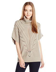 69b5c0e798 Trina Turk Womens Amarisa Cowl Neck Cable Sweater
