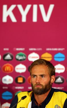 Olof Mellberg Photos - Post-Match Press Conferences - Sweden v England, Group D: UEFA EURO 2012 - Zimbio