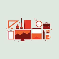 #illustrator #illustration #graphics #graphicdesign #infographic #infographics #design #designer #icons #color #shapes #orange #green #colorpalette #like4like #pc #compute #coffee #tools #work #ink #book #business #pen #doodle #sketch #digital #logo #landscape #symbol
