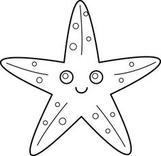 Starfish asking your wish coloring pages Download Free Starfish