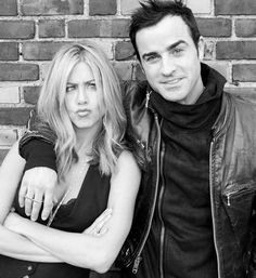 Jennifer Aniston & Justin Theroux - these two are my new favorite couple. So cute it's ridiculous.