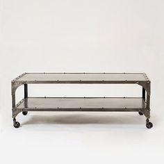 Antique Finish Element Coffee Table