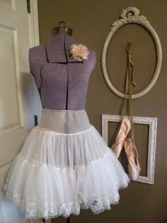 50s slip/tutu for under swing dancing dresses :)