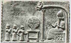 """According to the Sumerian tablets, which detail the culture's religious beliefs, the Annunaki were said to have """"helpers"""" which """"acted as if alive, but were not."""" In other words, by our terms, android/inorganic beings. The picture below are Sumerian artifacts said to depict """"servers or helpers of their gods."""""""
