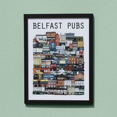 Belfast Pubs – Cowfield Design Belfast Bars, Belfast Castle, Belfast Ireland, Belfast Sink, Belfast Murals, Belfast Titanic, Queen's University, Culture Travel