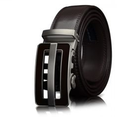 85d0e12f82618d COW Genuine Leather belts for men Automatic Buckle Fashion business real  Leather belt trousers 30 32