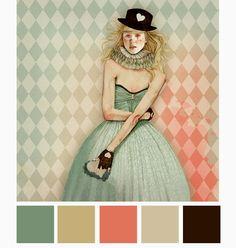 color mood board: Ëlodie — mootsa design, llc