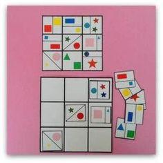 Este blog tiene un montón de juegos de percepcion visual Counting Activities, Autism Activities, Kindergarten Activities, Math Games, Preschool Activities, Ways Of Learning, Kids Learning, Visual Perception Activities, Math Patterns