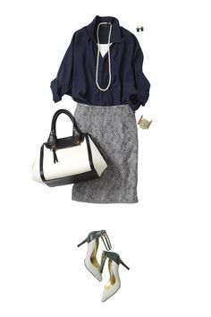 Make Exceptional Fashion Choices With These Tips – Look Book Fashion Tokyo Fashion, Office Fashion, Work Fashion, Daily Fashion, Fashion Outfits, Womens Fashion, Business Outfits, Business Fashion, Office Outfits Women