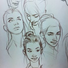 Character Sketches, Character Drawing, Art Sketches, Art Drawings, Old Illustrations, Illustration Art, Art Watercolor, Face Sketch, Animation