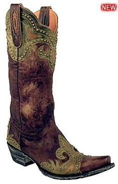 Womens Old Gringo Boots Taka - Outback Leather