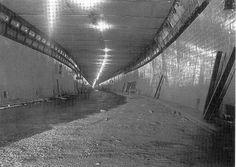 Lyttelton Road Tunnel under construction