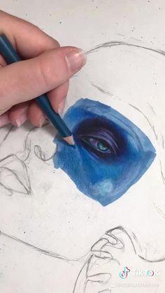 Art Drawings Sketches Simple, Realistic Drawings, Color Pencil Art, Colored Pencil Artwork, Arte Sketchbook, Diy Canvas Art, Marker Art, Art Tutorials, Cute Art