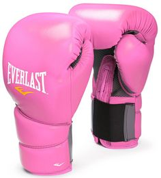 pink boxing gloves <3