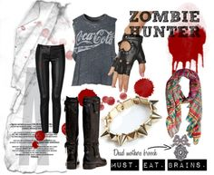 """Zombie Hunter!"" by clancycat on Polyvore"