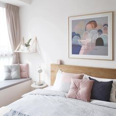 """""""Our girl @honghenwoodstylist does it again! What a perfect room in the perfect palette featuring all our fave brands... And don't even get me started…"""""""