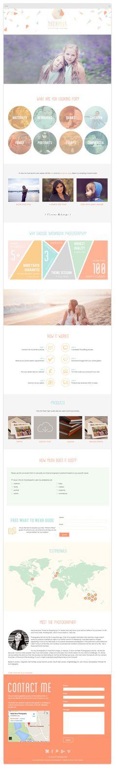 Custom Responsive Website Design by Tiffany Kelley Design :: Web Design #design #designer #graphicdesign #graphicdesigner #webdesign #webdesigner #designproject #branding #branddesign #brandidentity #photographerbranding #brandboard #wordpress #genesis #brandstylist #brandstyling