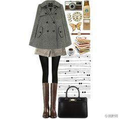 格子 Polyvore, Outfits, Image, Fashion, Clothes, Moda, Suits, Fasion, Outfit