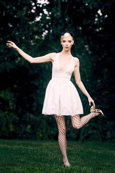 Anya Taylor Joy Split, Elle Magazine, Lost Boys, White Dress, Style Inspiration, Celebrities, Collection, Beautiful, Dresses