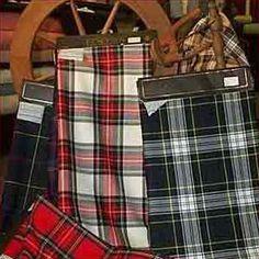 Springweight Tartan Material, 8oz Wool Plain Weave Anderson Clan Shop