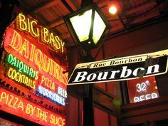 Rue de Bourbon, New Orleans, French Quarter  Google Image Result for http://vintage.johnnyjet.com/image/PicForNewsletterNewOrleansApril200825.JPG