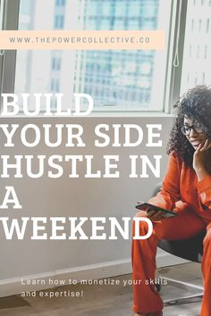 Ready to turn your dreams into a business? Are you looking to create more freedom in your life? This free e-book will help you to identify your most marketable skillset and help you prepare to get your side hustle launched in a weekend!