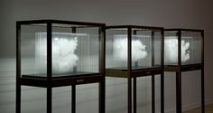 Buenos Aires-based artist Leandro Erlich's Single Cloud Collection gives us a surreal taste of what capturing a cloud in glass would look like. Using the a