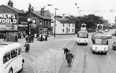 Whitegate Drive Blackpool. Great Places, Beautiful Places, Places To Visit, Old Pictures, Old Photos, That Old Black Magic, Blackpool England, Bus Coach, Train
