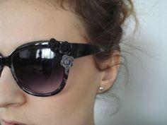 Floral sun glasses DIY