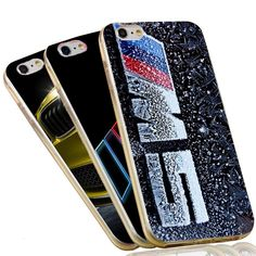 Ultra Thin Crystal Clear Soft TPU Slim Silicon Phone Case For BMW  For iPhone 7 6 6S Plus 4 4S 5C 5 SE 5S Cover